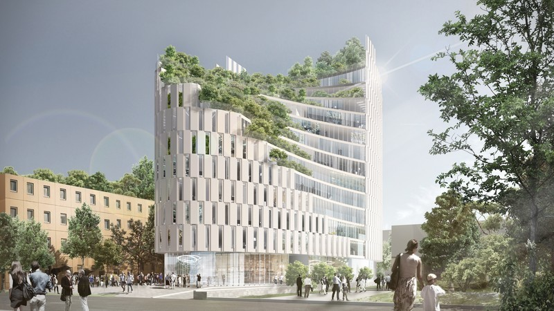 Newsroom | v2com-newswire | Newswire | Architecture | Design | Lifestyle - Press release - MET Tirana Residential Building - Mario Cucinella Architects