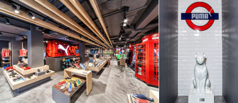 Dossier de presse - Communiqué de presse - Puma Stores Amsterdam, London and Munich - plajer & franz