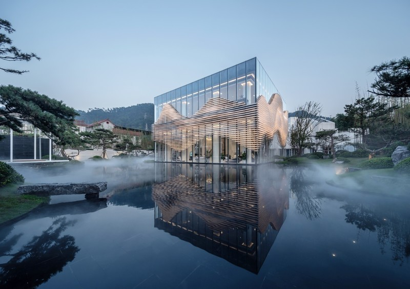 Newsroom | v2com-newswire | Newswire | Architecture | Design | Lifestyle - Press release - Shanxiao Sales Pavilion, Chongqing - aoe
