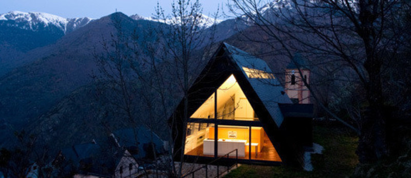 Newsroom | v2com-newswire | Newswire | Architecture | Design | Lifestyle - Press release - House at the Pyrenees - Cadaval & Solà-Morales