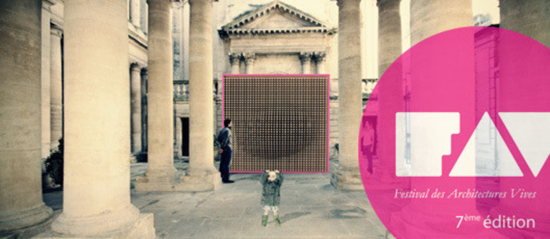 Press kit - Press release - The Lively Architectures's Festival 2012 - Association Champ Libre - Festival des Architectures Vives (FAV)