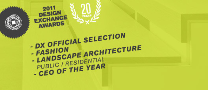 Newsroom | v2com-newswire | Newswire | Architecture | Design | Lifestyle - Press release - 2011 Winners National Design Exchange Awards - Design Exchange, Canada's Design Museum
