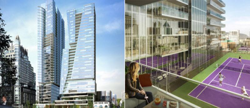 Newsroom | v2com-newswire | Newswire | Architecture | Design | Lifestyle - Press release - La Tour Icône - Stationnement métropolitain / Beïque Legault Thuot