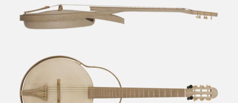 Dossier de presse - Communiqué de presse - Imago guitares - Jean-Sebastien Poncet, designer, plasticien