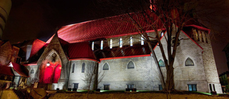 Press kit - Press release - L'église Saint John the Evangelist - Lightemotion
