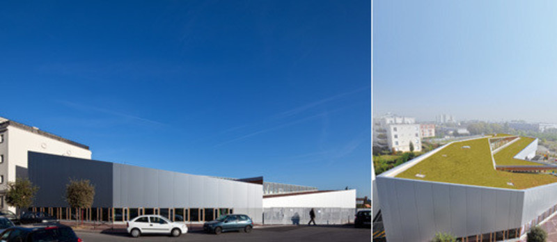 Newsroom | v2com-newswire | Newswire | Architecture | Design | Lifestyle - Press release - A small school in the Grand Paris - Hubert & Roy architectes et associés