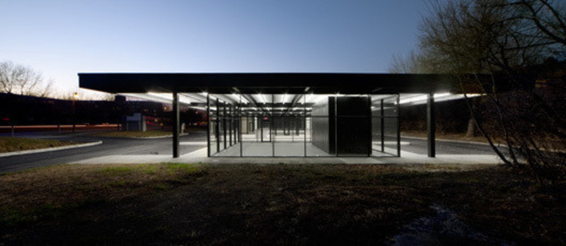 Dossier de presse - Communiqué de presse - Conversion of Mies van der Rohe gas station on Nuns Island - Les architectes FABG