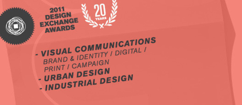Newsroom - Press release - 2011 Winners National Design Exchange Awards - Design Exchange, Canada's Design Museum