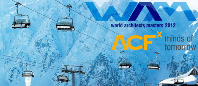 Newsroom | v2com-newswire | Newswire | Architecture | Design | Lifestyle - Press release - WAM open 2012: Conference and Competition on the highest Level in Ischgl - World Architects Masters