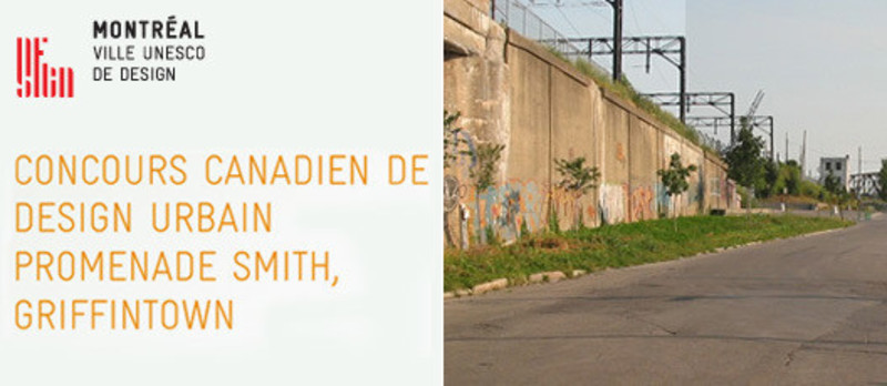 Press kit - Press release - Concours canadien de design urbain Promenade Smith, Griffintown - Bureau du design - Ville de Montréal