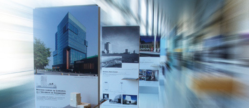 Newsroom - Press release - Exhibition « Parcours littéraire d'une architecture gagnante » in Québec - L'Ordre des architectes du Québec (OAQ)