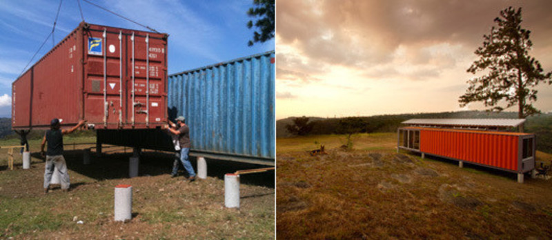 Newsroom - Press release - Containers of Hope - Benjamin Garcia Saxe Architecture