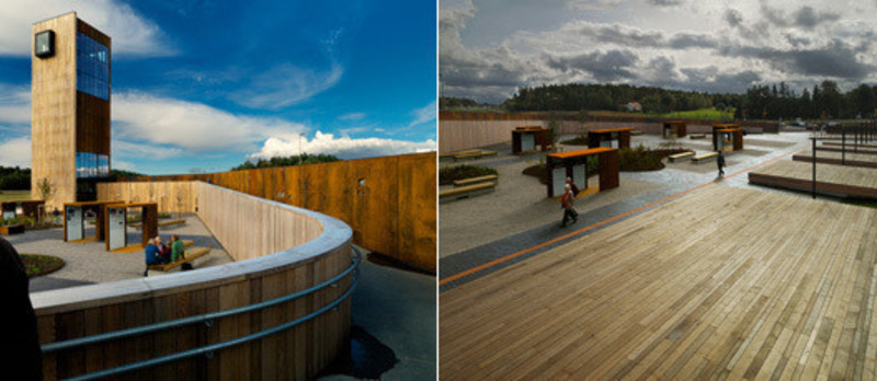 Press kit - Press release - Solberg Tower & Rest Area - Saunders Architecture