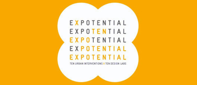 Press kit - Press release - ExpoTENtial: 10 Urban Interventions x 10 Design Labs - Laetitia Wolff