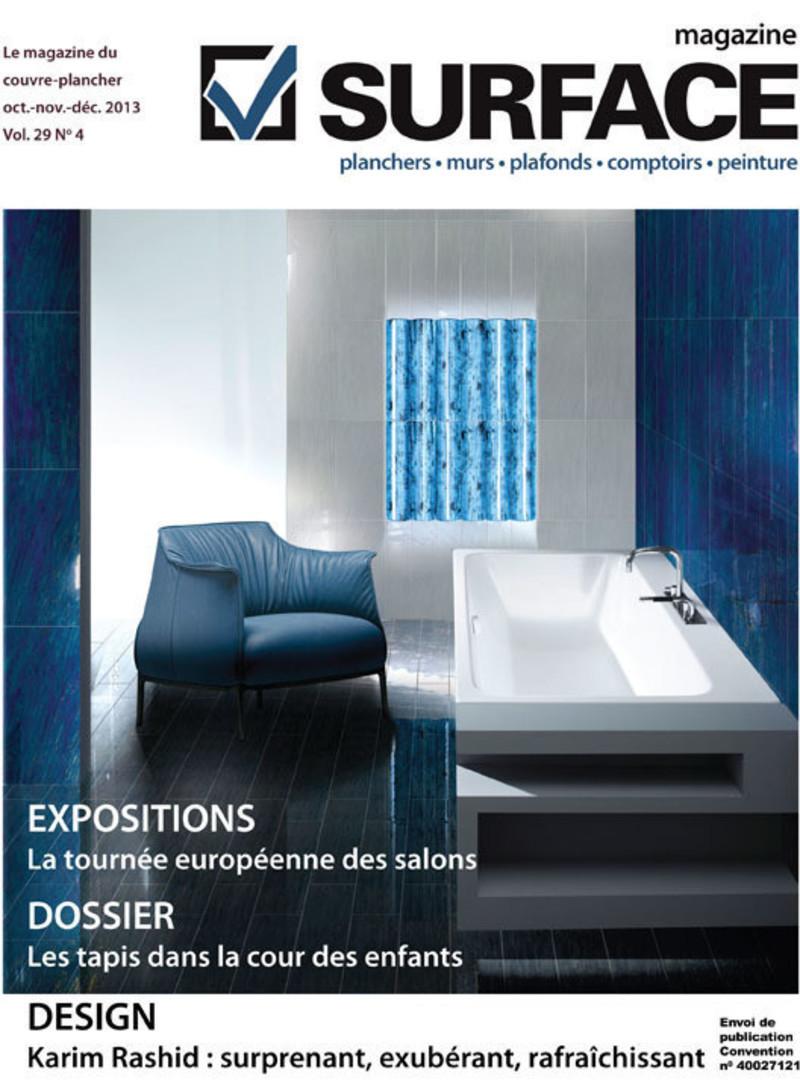Press kit - Press release - En route pour Coverings avec le magazine Surface - Le magazine Surface