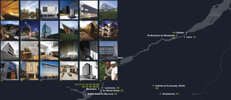 Newsroom - Press release - Quebec OrderofArchitects publishes Parcours littéraire d'une architecture gagnante,  the book of the 26th Awards of Excellence in Architecture - L'Ordre des architectes du Québec (OAQ)