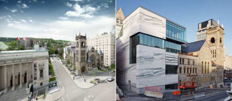 Newsroom | v2com-newswire | Newswire | Architecture | Design | Lifestyle - Press release - The Montreal Museum of Fine Arts unveils the architecture of its new pavilion ofQuebec and Canadian Art and of its new concert hall - Montreal Museum of Fine Arts (MMFA)