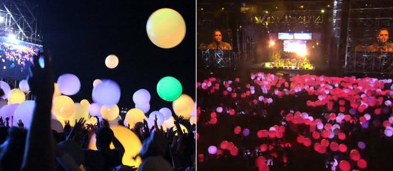 Dossier de presse - Communiqué de presse - ESKI illumine le Festival Coachella au son d'Arcade Fire ! - ESKI