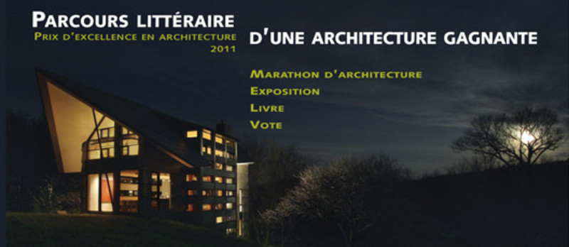 Newsroom - Press release - 4th Architectural Marathon - L'Ordre des architectes du Québec (OAQ)
