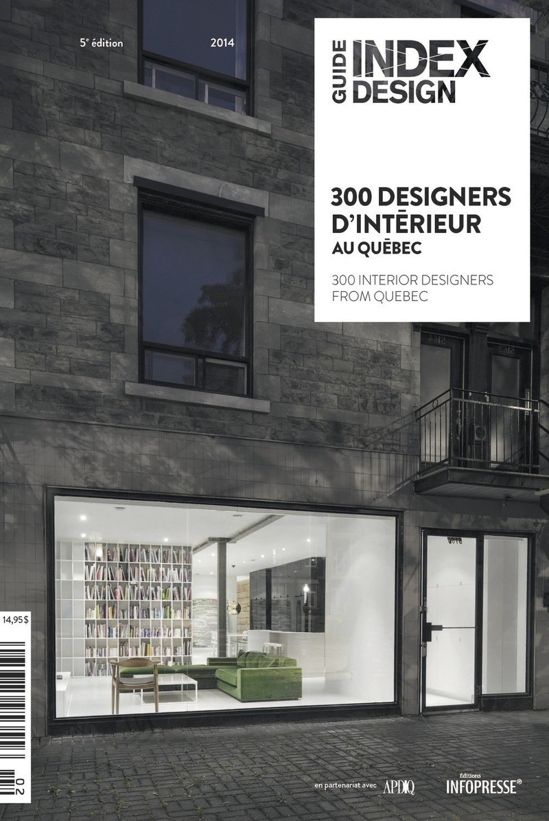 Newsroom | v2com-newswire | Newswire | Architecture | Design | Lifestyle - Press release - The 5th edition of the 300 Quebec Interior Designers Guide by Index-Designnow in stand - Index-Design