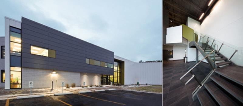 Newsroom - Press release - Centre spécialisé de technologie physique du Québec - bisson | associés + Carl Charron Architecte