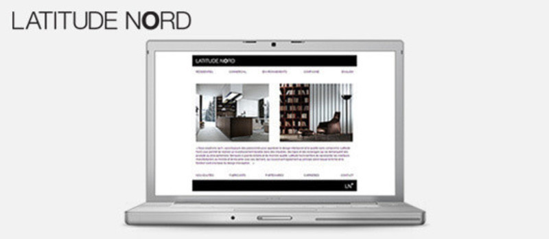 Press kit - Press release - Latitude Nord is officially launching its new website - Latitude Nord