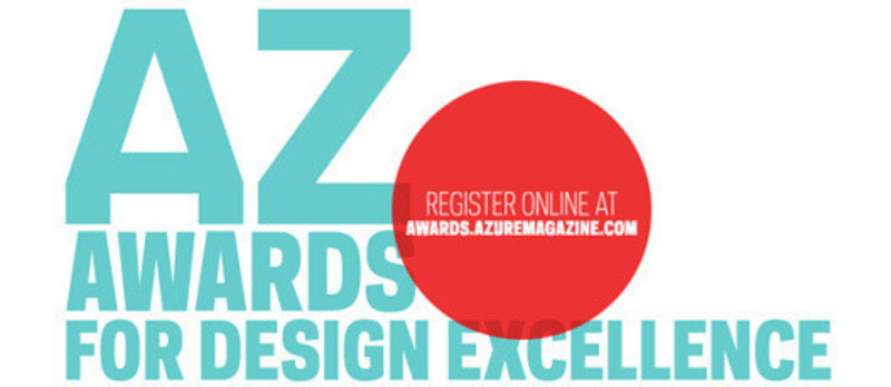 Salle de presse - Communiqué de presse - 2011 AZ Awards for Design Excellence - Azure Magazine