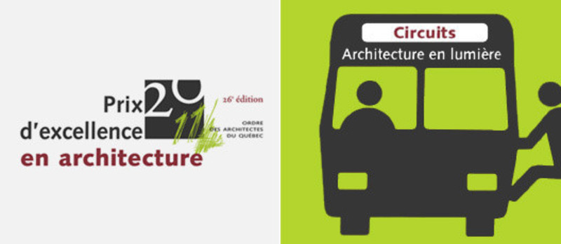 Press kit - Press release - All aboard the Spotlight on Architecture buses! - L'Ordre des architectes du Québec (OAQ)