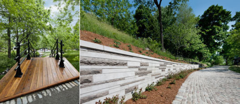 Salle de presse | v2com-newswire | Fil de presse | Architecture | Design | Art de vivre - Communiqué de presse - L'entrée Peel – Parc du Mont-Royal - Lemay+CHA (Lemay)