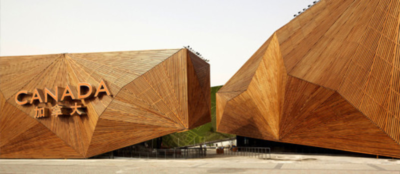 Press kit - Press release - Canadian Pavilion at the Shanghai world expo 2010 - Saia Barbarese Topouzanov architectes