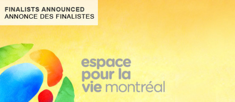Press kit - Press release - Montréal announces the names of the finalists in the Space for Life architecture competition - Bureau du design - Ville de Montréal