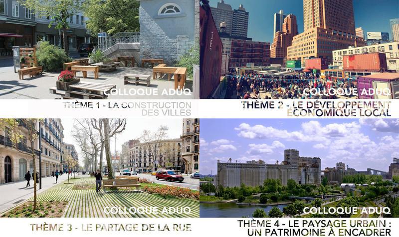 Salle de presse - Communiqué de presse - Colloque ADUQ 2014 - Association du design urbain du Québec (ADUQ)