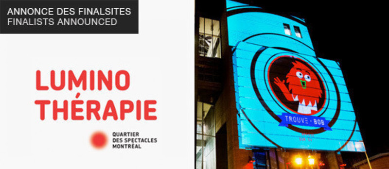 Newsroom - Press release - Luminothérapie competition: Finalists announced - Bureau du design - Ville de Montréal