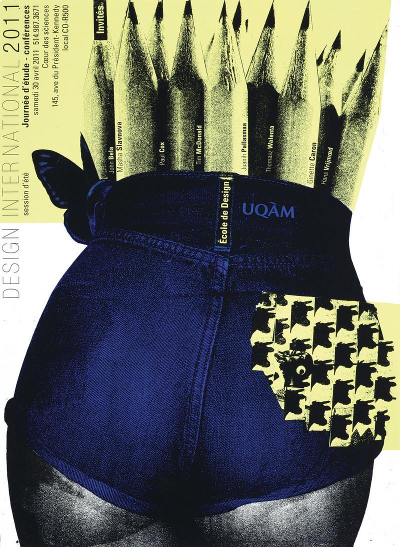 Salle de presse - Communiqué de presse - Exposition « Alfred en liberté » au Centre de design de l'UQAM : les affiches d'Alfred Halasa - Centre de design de l'UQAM