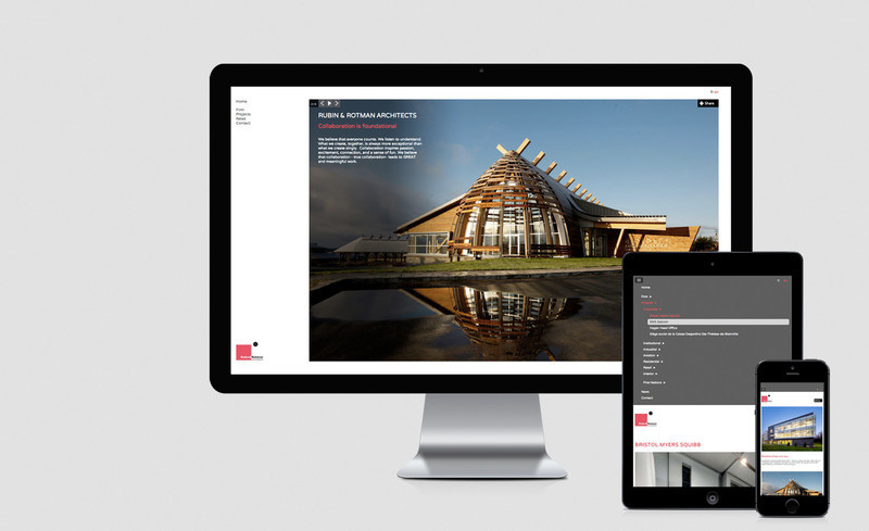 Press kit - Press release - Nouveau site Internet pour Rubin & Rotman architectes - Rubin & Rotman architectes