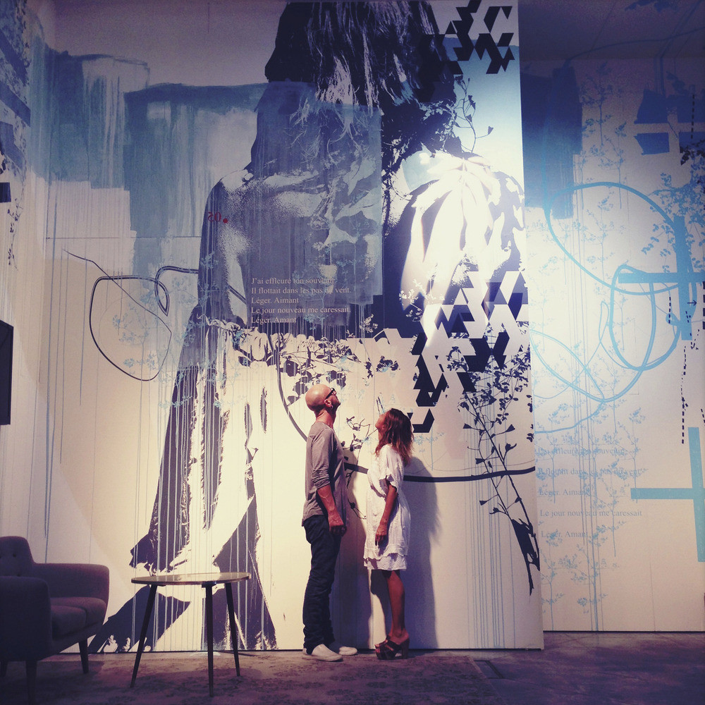 Poetic Wall Mel Et Kio press kit - mel et kio creations at 2014 sidim - inhoma