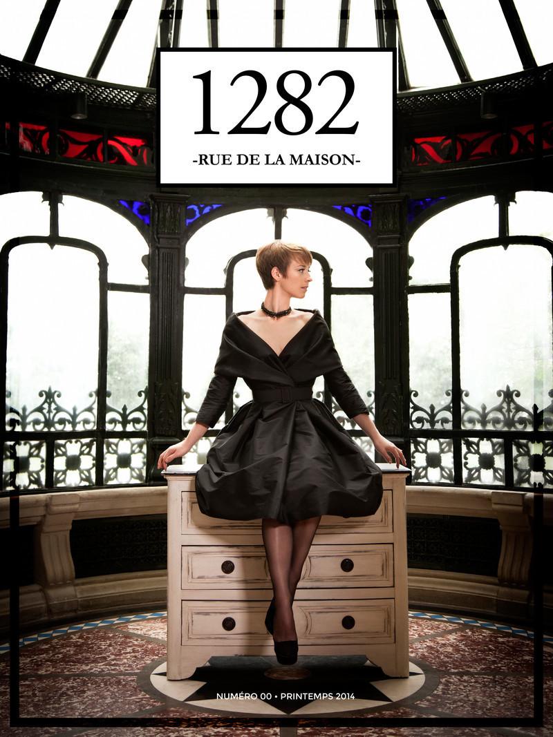 Press kit - Press release - New Webzine launch1282 RUE DE LA MAISON - 1282 rue de la maison