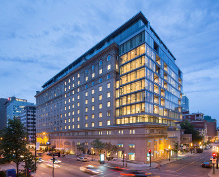 Newsroom - Press release - A new glass envelope for the Ritz-Carlton Hotel - Provencher_Roy