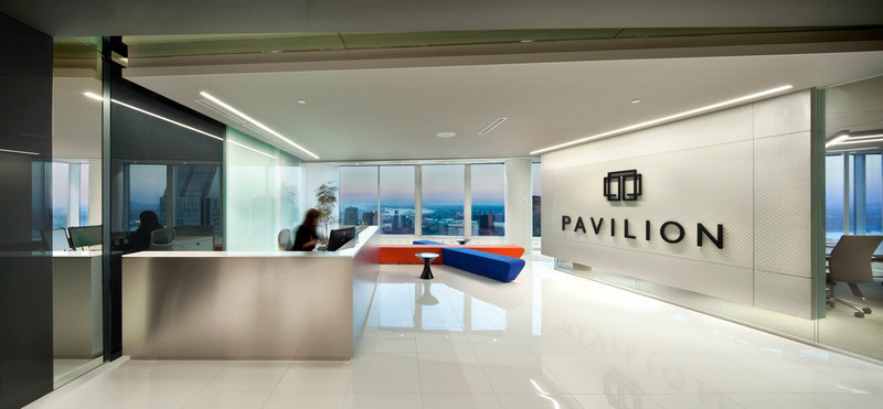 Dossier de presse - Communiqué de presse - Monochrome tones, light and shadow for Pavilion Financial Corporation - LumiGroup