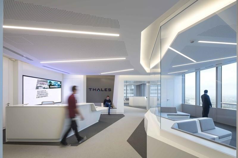 Salle de presse - Communiqué de presse - Arte Charpentier Architectes conçoit et réalise le nouveau siège de Thales dans la Tour Carpe Diem, à la Défense - Arte Charpentier Architectes