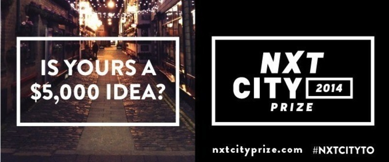 Press kit - Press release - Less than one month left to submit to the NXT City Prize with an opportunity to win $5,000 - NXT City Prize