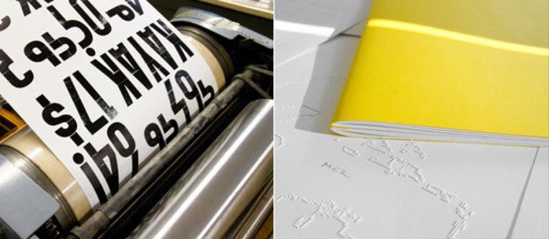 Dossier de presse - Communiqué de presse - « La chose imprimée » - Centre de design de l'UQAM