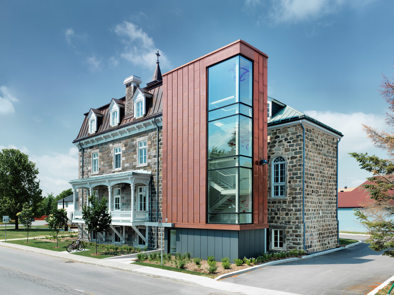 Press kit - Press release - Mairie de Saint-Roch-de-l'Achigan - Affleck de la Riva architectes
