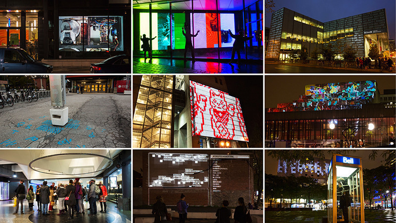 Press kit - Press release - The National Film Board of Canada and the Quartier des Spectacles Partnership join forces to produce two innovative international art projects designed for public spaces - Quartier des Spectacles Partnership & National Film Board of Canada