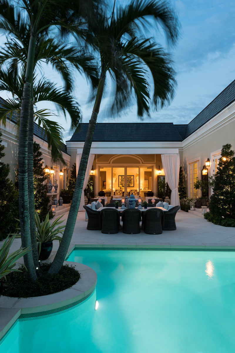 Press kit - Press release - Reinventing Palm Beach Style - Les Ensembliers