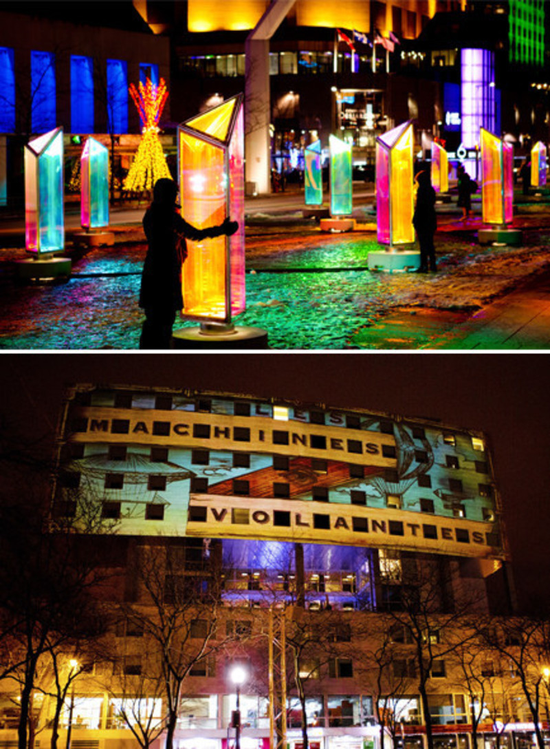 Newsroom - Press release - LuminothérapieCompetition: Call for proposal for works to enhance and animate public spaces in Montreal's Quartier des spectacles - Bureau du design - Ville de Montréal