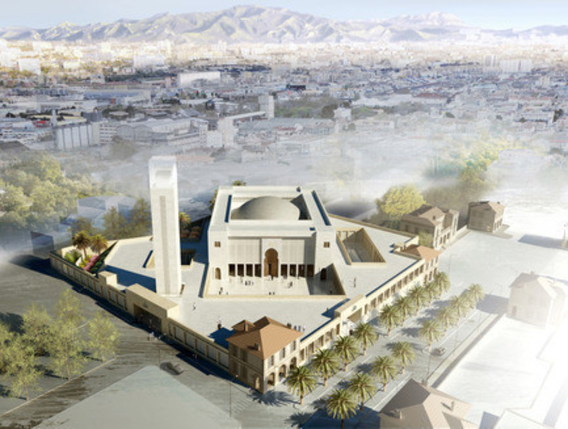 Newsroom | v2com-newswire | Newswire | Architecture | Design | Lifestyle - Press release - The Marseille Grand Mosque - Bureau Architecture Méditerranée