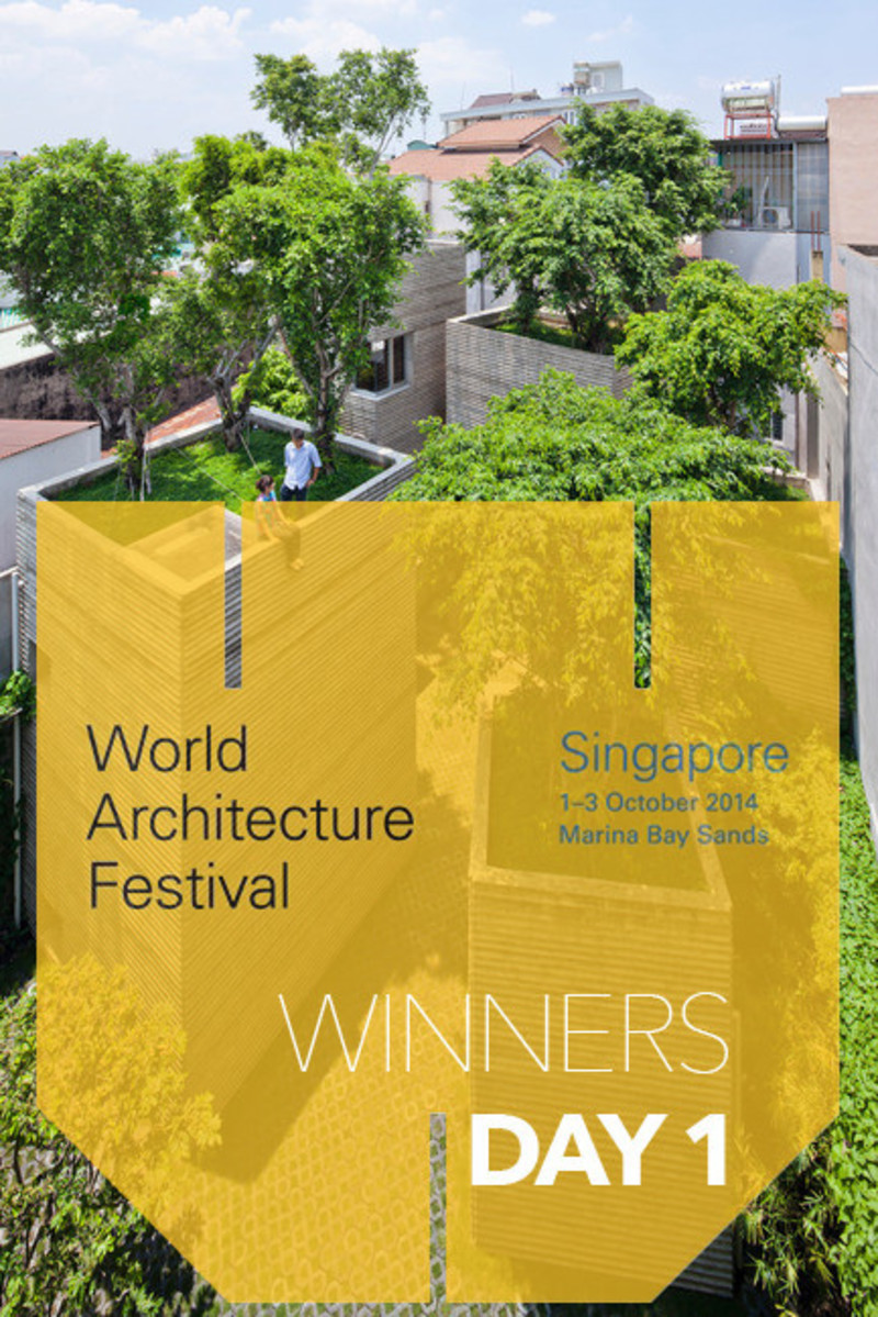 Dossier de presse - Communiqué de presse - 2014 Winners announced Day one - World Architecture Festival (WAF)